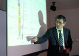 Mr. Iida, formerly Head of Kagoshima Space Center, JAXA, Japan, is guest speaker on November 17, 2004